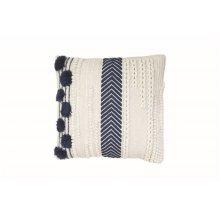 18X18 Hand Woven Aleks Pillow
