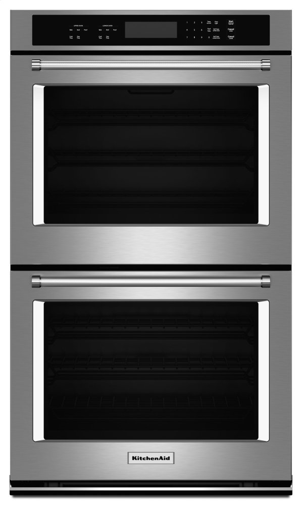 Kodt100ess Kitchenaid 30 Quot Double Wall Oven With Even Heat