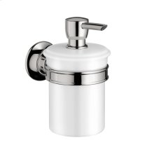 Chrome Liquid soap dispenser