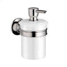 Chrome Liquid soap dispenser
