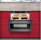 """24"""" Microwave Drawer ; Black Stainless Steel, Hidden Control Panel Product Image"""