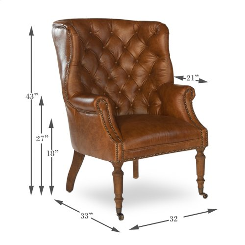 Welsh Leather Chair