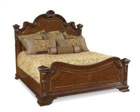Old World Eastern King Estate Bed