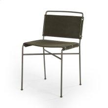 Modern Velvet Loden Cover Wharton Dining Chair