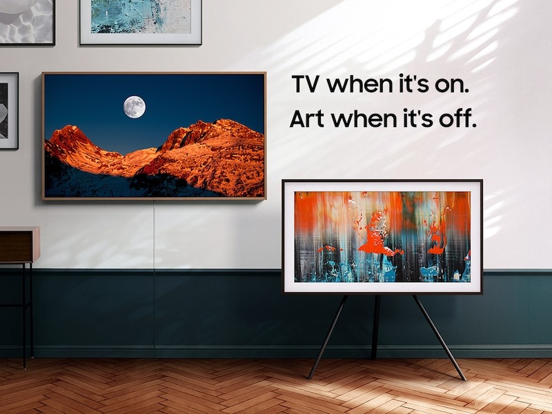 """Samsung32"""" Class The Frame Qled Hdr Smart Tv (2020)"""