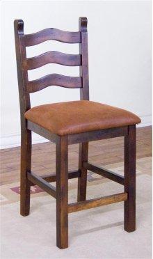 Santa Fe Ladderback Stool,cushion Seat