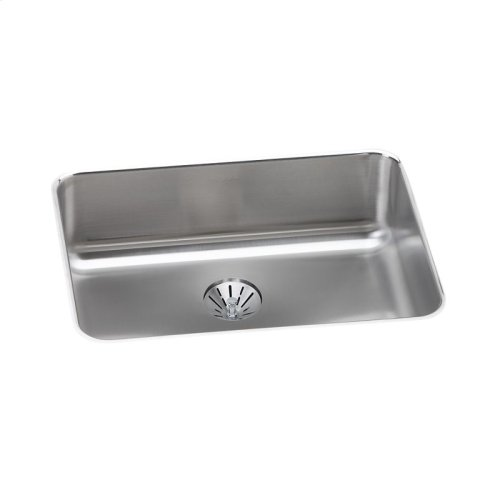 """Elkay Lustertone Classic Stainless Steel 25-1/2"""" x 19-1/4"""" x 8"""", Single Bowl Undermount Sink with Perfect Drain"""