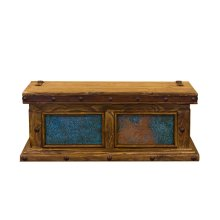 Turquoise Copper Trunk