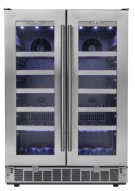 """Napa 24"""" French door Wine Cooler Product Image"""