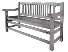 Gray Sanded Bench