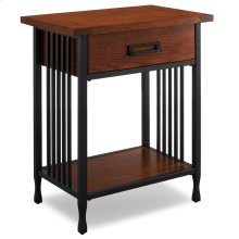 Night Stand with Drawer - Ironcraft Collection #11222