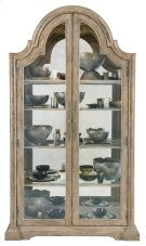 Campania Display Cabinet in Weathered Sand (370) Product Image
