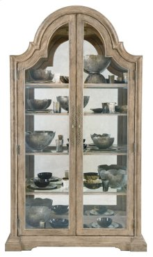 Campania Display Cabinet in Weathered Sand (370)