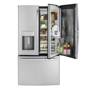 ®27.8 Cu. Ft. French-Door Refrigerator with Door In Door - STAINLESS STEEL
