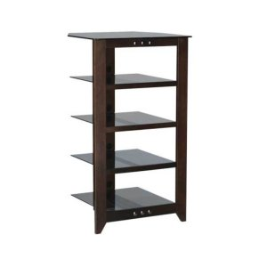 Mocha Audio Stand Contemporary design and solid construction come together to create strength and beauty - MOCHA