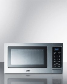 Stainless Steel Microwave Oven With Digital Touch Controls; Replaces Scm852