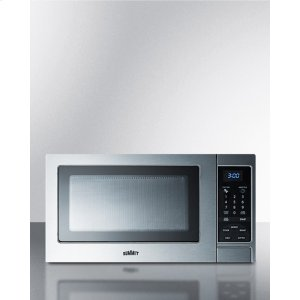 SummitStainless Steel Microwave Oven With Digital Touch Controls; Replaces Scm852