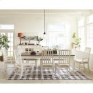 Grand Haven - Slat Back Upholstered Arm Chair - Feathered White Finish Product Image