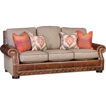 2900LF Vacchetta Leather/Fabric Sofa