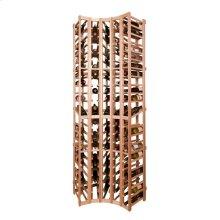 Apex 7' Curved Corner Modular Wine Rack - OVERSTOCK