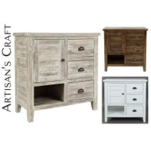 Artisan's Craft Accent Chest - Weathered White