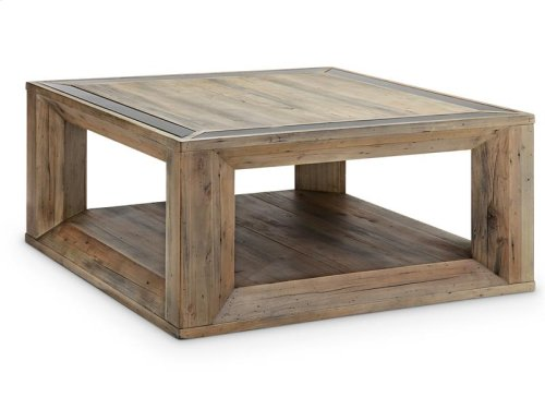 Square Cocktail Table w/Casters