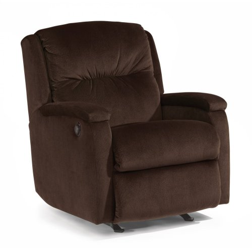 Kayla Fabric Power Rocking Recliner