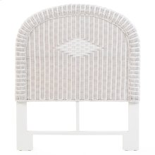 Coral Bay Wicker Twin Headboard Cotton 3707