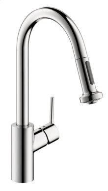 Chrome Talis S 2-Spray Prep Kitchen Faucet, Pull-Down