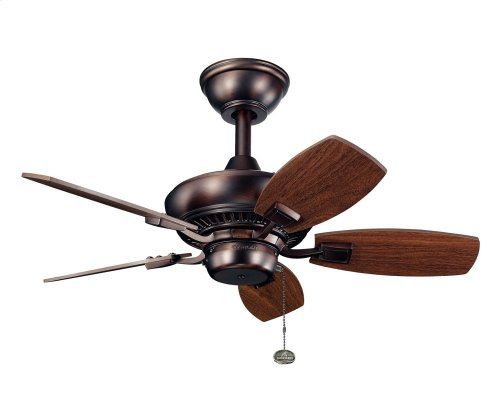 "Canfield 30"" Fan Oil Brushed Bronze"