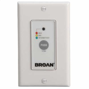 BroanWall Control, Off/Low/High Speed/Intermittent 20 min./hour