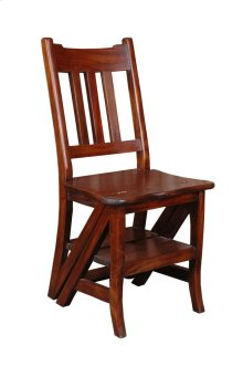 CC-CHA005S-WN  Cottage Chair and Shelf Combo