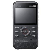 W300 Rugged Full HD 1080p Pocket Camcorder (Black)