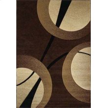 Contours Zaga Chocolate Rugs