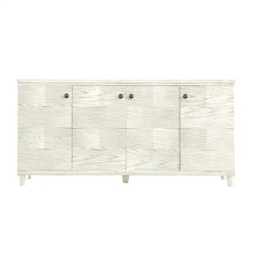 Coastal Living Resort Ocean Breakers Console in Nautical White