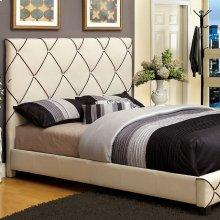 California King-Size Auburn Bed