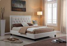 7518 White California King Bed