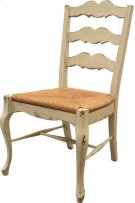 French Cottage Side Chair with Rush Seat Product Image