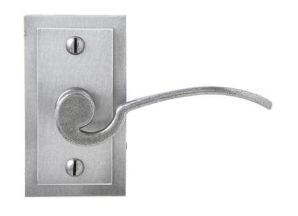 Lever on rosette set - Privacy trim set