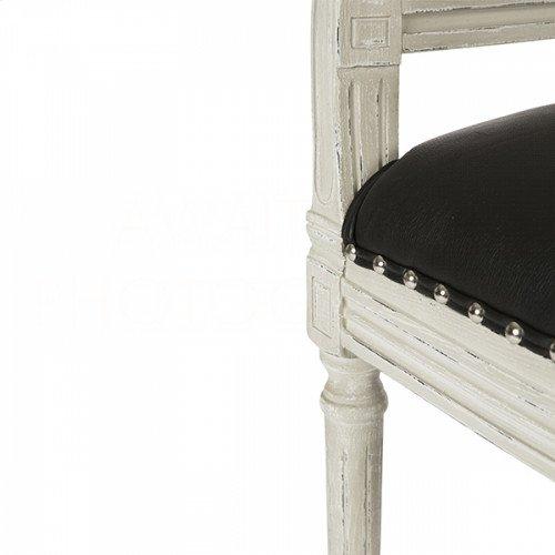 Blue Cane Back Parker Gray Chair