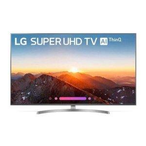 "LG AppliancesSK8000PUA 4K HDR Smart LED SUPER UHD TV w/ AI ThinQ® - 65"" Class (64.5"" Diag)"