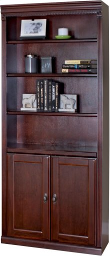 Bookcase with Lower Doors