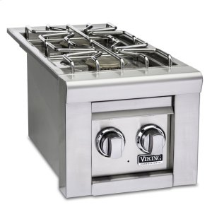 Viking13 W. Double Side Burners, Propane Gas