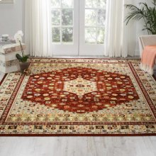 Aria Ar004 Brick Rectangle Rug 3'11'' X 5'11''