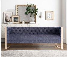 Farah Navy Sofa Product Image