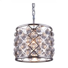 """1204 Madison Collection Chandelier D:14"""" H:13"""" Lt:3 Polished nickel Finish (Royal Cut Crystals)"""