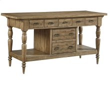 Salvage Province Kitchen Island