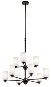 Joelson 9 Light Chandelier Olde Bronze®