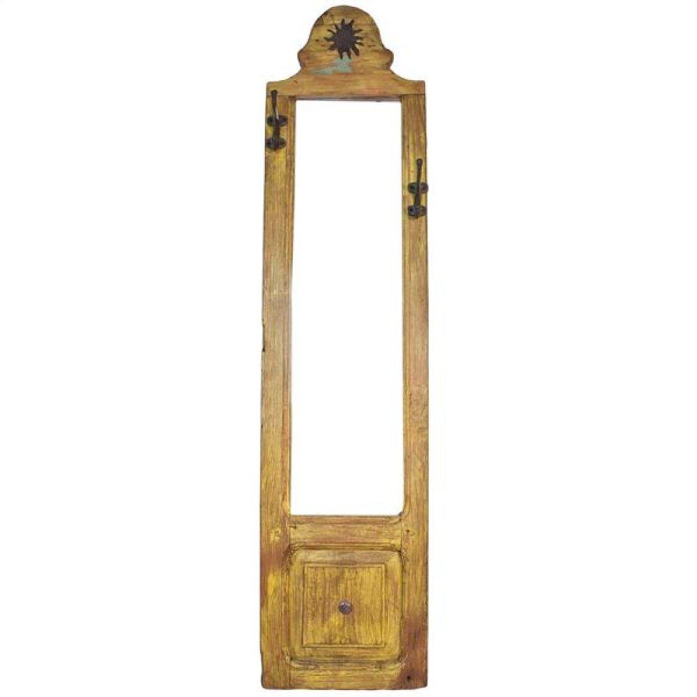 Door Framed Mirror