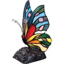 Rainbow Butterfly Accent Lamp in Other